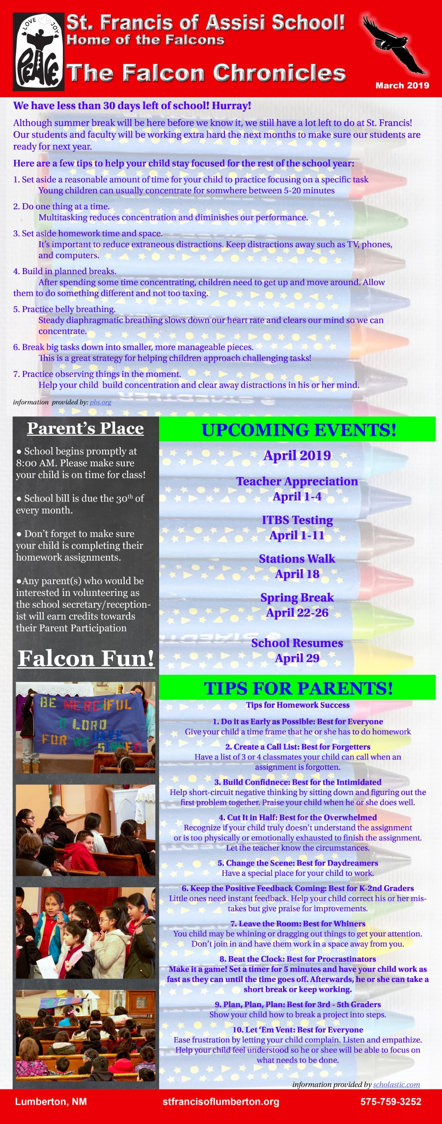 March 2019 Newsletter rev2